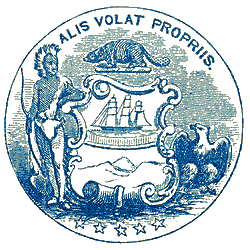 Oregon territory seal